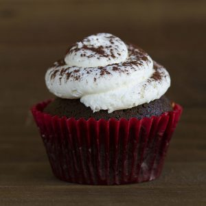 black forest cupcake at alaska cake studio