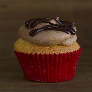boston cream cupcake at alaska cake studio