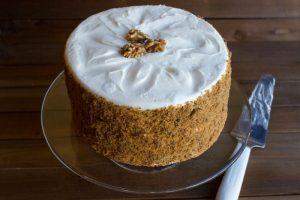 carrot celebration cake at alaska cake studio