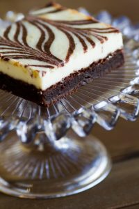 cheescake brownies at alaska cake studio