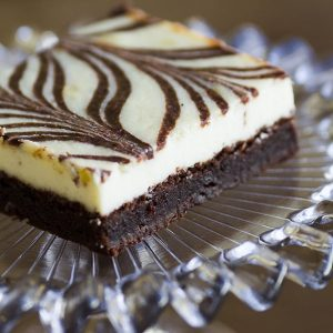 cheesecake brownies at alaska cake studio