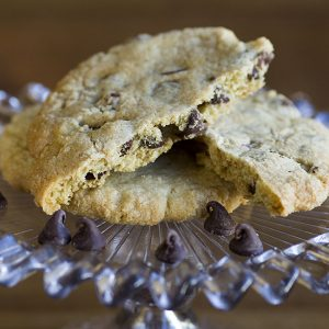chocolate chip cookie at alaska cake studio