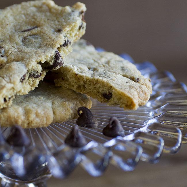 chocolate chip cookie at alaska cake studio