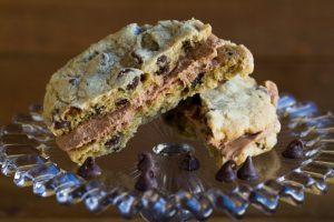 chocolate chip sandwich cookie at alaska cake studio