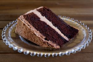 chocolate merlot celebration cake at alaska cake studio