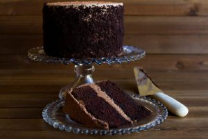 chocolate merlot celebration cake