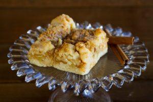 cinnamon apple jam bar at alaska cake studio
