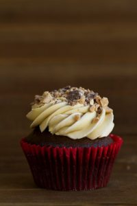 english toffee cupcake at alaska cake studio