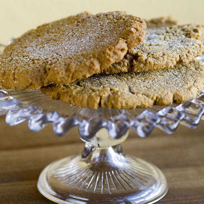 ginger cookie at alaska cake studio