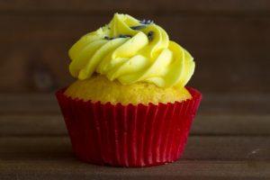 lemon lavender cupckae at alaska cake studio