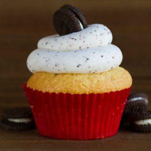 oreo cupcake at alaska cake studio