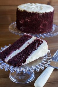 red velvet celebration cake at alaska cake studio