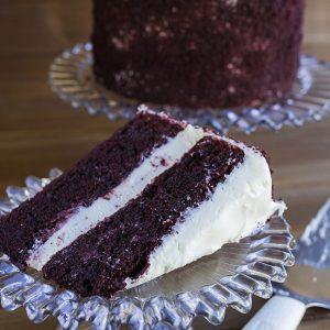 red velvet celebration cake at alaska cake studio