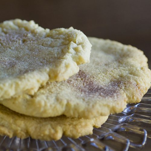 snickerdoodle cookie at alaska cake studio