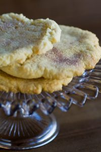 snickerdoodle cookies at alaska cake studio